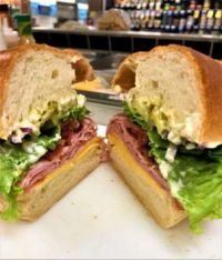Black Forest, Mayo, American, lettuce, pickle, onion
