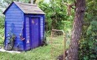 Themes: Backyard Outhouse
