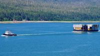 Tug and tow, inside passage, Canada!!