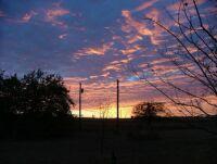 My Backyard Sunset