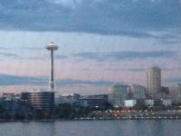 Seattle from the Clipper Ferry