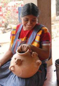 Laughing Potter Chiapas