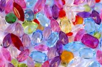 colorful gems
