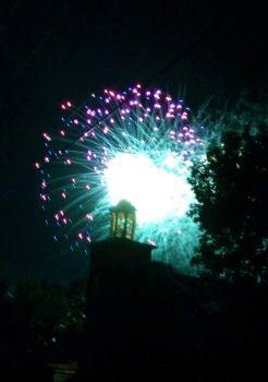 My sister's fireworks