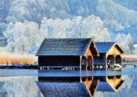Boathouses On A Frosty Morning...