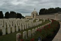 Part of Tyne Cot Cemetery