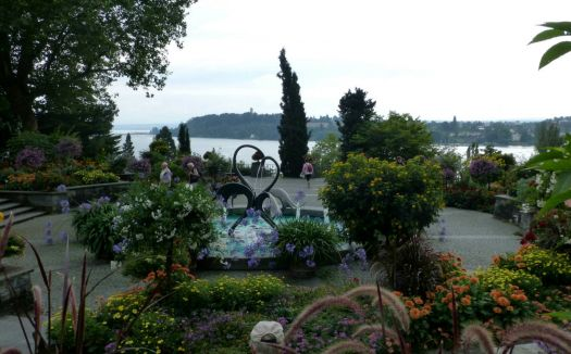 Mediterrannean Area, Isle of Mainau, Lake Constance, Germany
