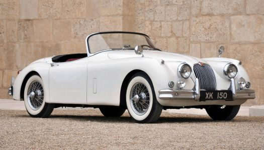 jaguar xk 150 roadster -1958