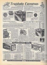 Vintage Cameras 1927 Sears Roebuck  Very Large