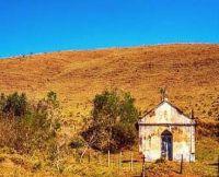 Little church on the hill . . . . .
