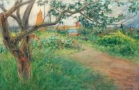 "Carl Larsson, ""Landscape at Marstrand"""