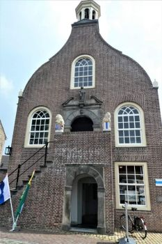 Former town hall of Geervliet. Original building 15th C.