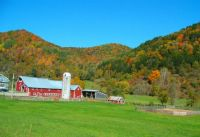Farm on Rt 110, Vermont, Leafpeeper Ride, 09/27/14