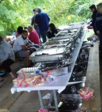 Liz's Family Reunion - One Of The Food Tables