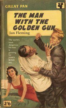 JAMES BOND 007--THE MAN WITH THE GOLDEN GUN !
