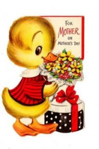 Mothers Day duck
