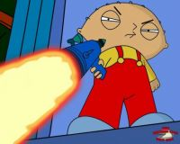 Stewie Griffin With Laser
