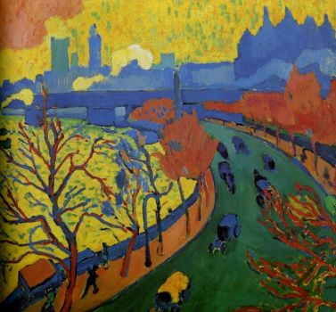 Pont de Charing Cross by Andre Derain
