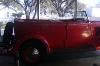 An antique car on LBJ's ranch in Texas