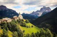 A Scene from the Dolomites