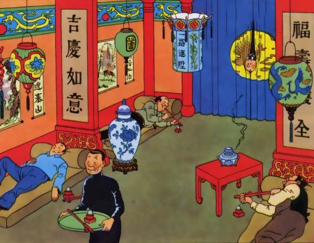 Tintin in the Blue Lotus
