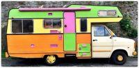 Colourful Vintage Camper