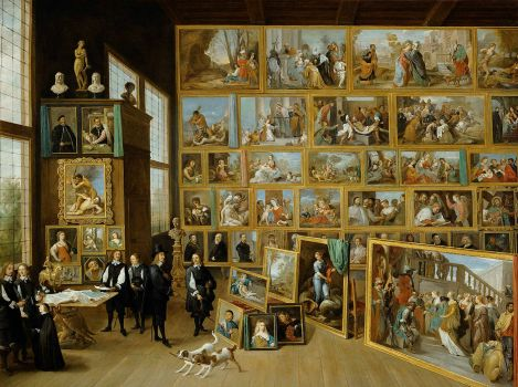 David Teniers (the younger) - The Art Collection of Archduke Leopold Wilhelm in Brussels, 1651