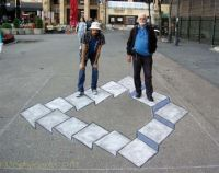 3D street art by I don't know whom