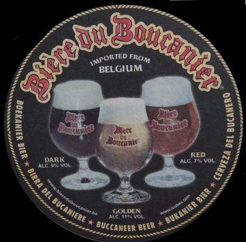 Biere du Boucanier beer coaster