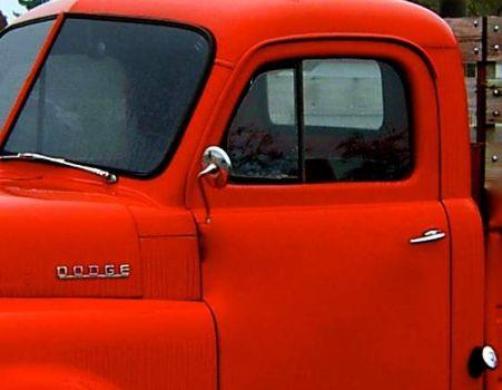 Vintage pickup sideview