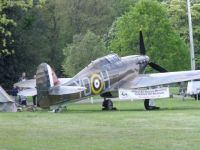 Spitfire at Windsor Castle