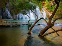 Havasu Creek Waterfall