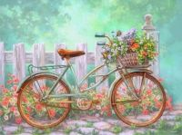 flowers-Bicycle