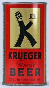 Krueger Beer (black letters) - Lilek #483