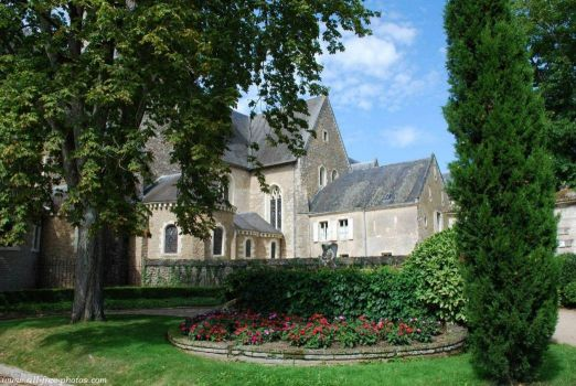 St Peter's Abbey, Solesmes, France