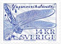 Swedish Stamp Reissue of Baltic Hawer stamp
