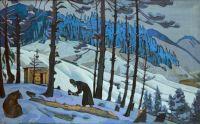 St. Sergius the Buildert, 1925 Nicholas Roerich