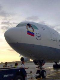 Lufthansa last flight Venezuela
