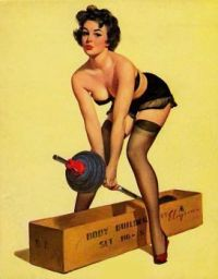 classic pinup girl 15