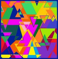 Abstract Triangles 4