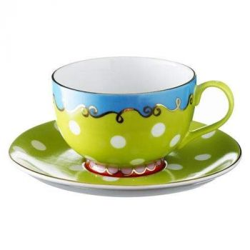 Dotty tea or coffee cup