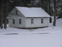 Hus i Åfors, dennegang vinter