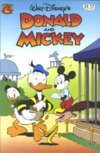 Donald Duck And Mickey Mouse: Slip Up