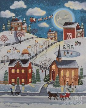 Mary Charles-snow-moon