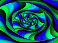 Green & Blue Vortex