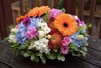 Happiness is….Colourful Table Centrepiece!