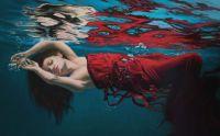 Woman Sea Painting