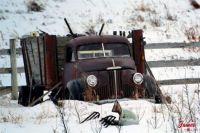 Old studebaker truck