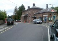 Grade II listed Abergavenny railway station