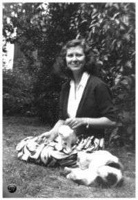 Shelagh and cats